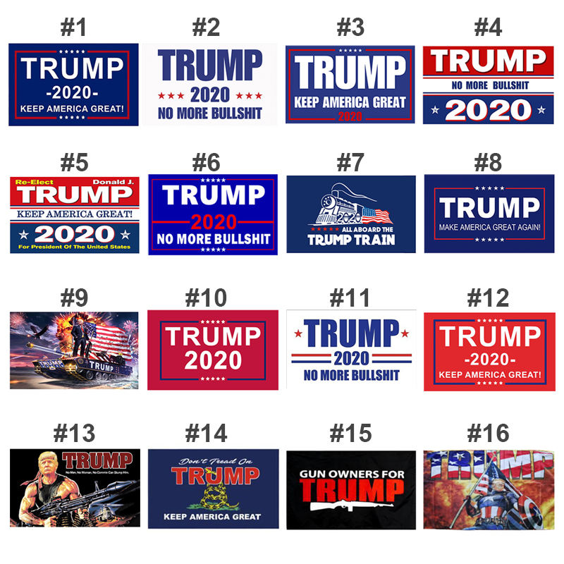 Trump Flag 100 Moq Wholesale Trump Flags Trump No More Bullshit