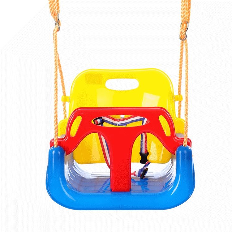 Custom Brand 3 in 1 Children Swings in Garden Kids Single Swing for kids