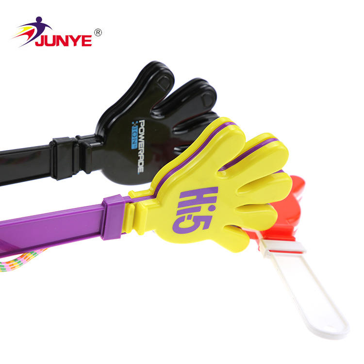 Toys promotion plastic hand clapper for cheering