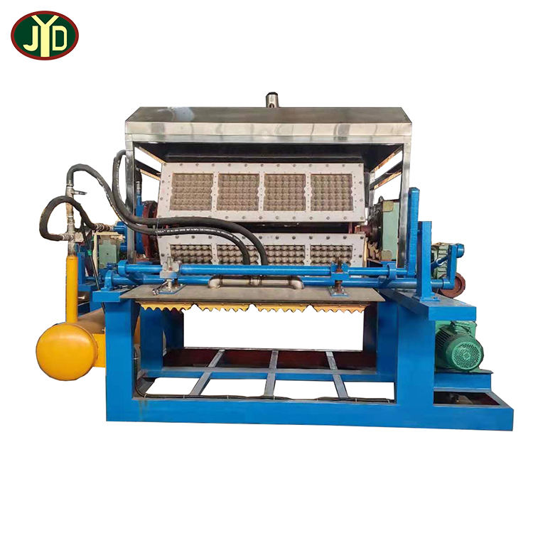JYD Factory Price Best Selling Small Egg Carton Tray Making Machine Production Line Pulp Egg Tray Moulding Machine