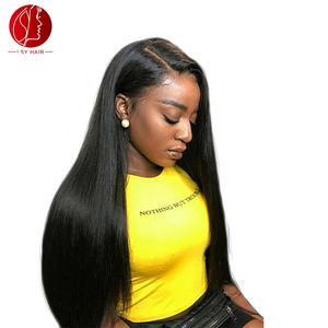Wholesale Natural 4x4 Silk Base wigs Brazilian 100% Virgin Lace Front Human Hair Wig