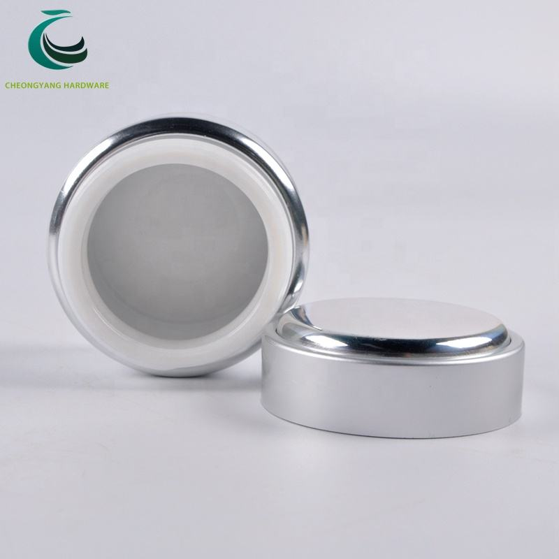 ready to ship 50ml aluminum glass nail gel jar for gel container packing