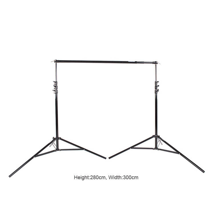 Photographic equipment photo studio collapsible background stand support photography backdrop holder