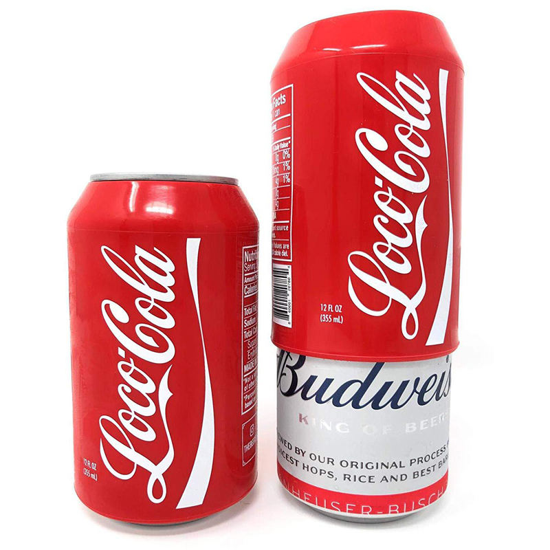 Shiny Cola Beer can cover silicone Bottle Holder Sleeve Cola hide Beer Cover