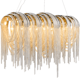 Luxury LOFT Tassel Chain Pendant Lights Modern Designer Nordic Lamp living room Hanglamp Aluminum Chain Pendant light fixtures