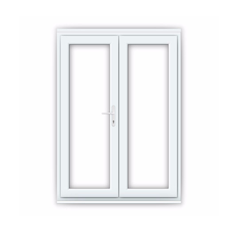 Reaching Free Design OEM/ODM Double Glazed French Conch PVC Casement Windows and Door