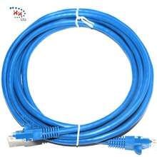 High Quality UTP Cat5e Cat6 Patch Cord Cable RJ45 Plug Cat6a Network Cable