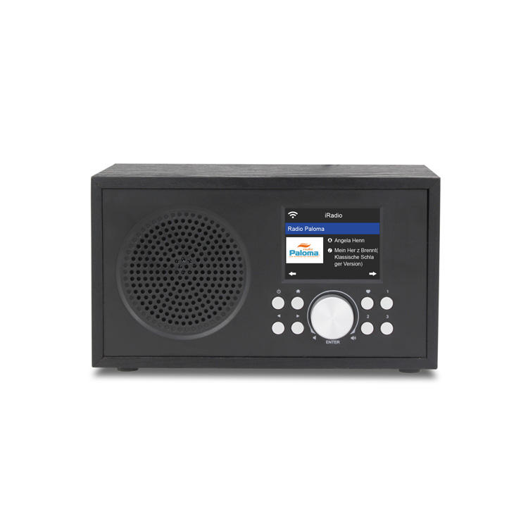 MS-100X Wooden internet wifi radio with spotify and usb playback