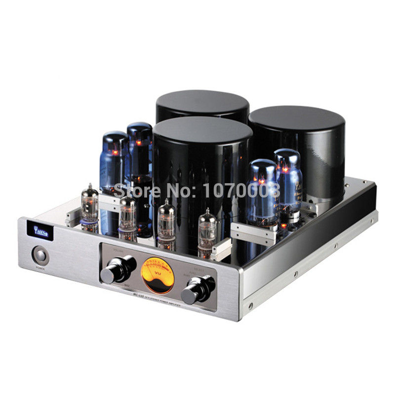 J-014 YAQIN MC-13S Integrated Vacuum Tube Amplifier Class AB1 Power Amplifier 6CA7T*4 SRPP Circuit 40W*2 110V/220V
