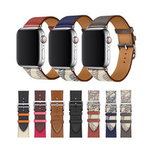 Factory Wholesale Leather Loop For Apple Watch Band Series 1 2 3 4 5 6 Sports Strap i watch band
