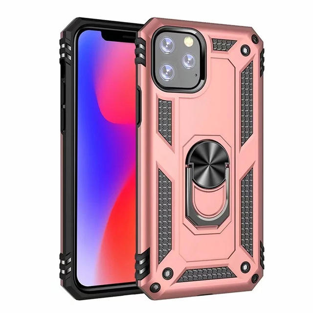 Hot Seller Shockproof Mobile Phone Case kickstand and magnetic case for iPhone 11/11 Pro/ 11 Pro Max