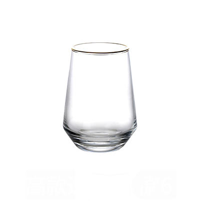 Bar Ware Crystal Mixing Glass juice drinking whiskey glass cup Factory price colorful water coffee Beer Juice Drinking glass