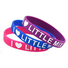 Promotional rubber bracelet highly personalized design silicone wristband custom silicone bracelet  custom your own logo