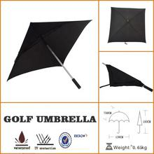 New promotional product custom logo square golf umbrella gift items