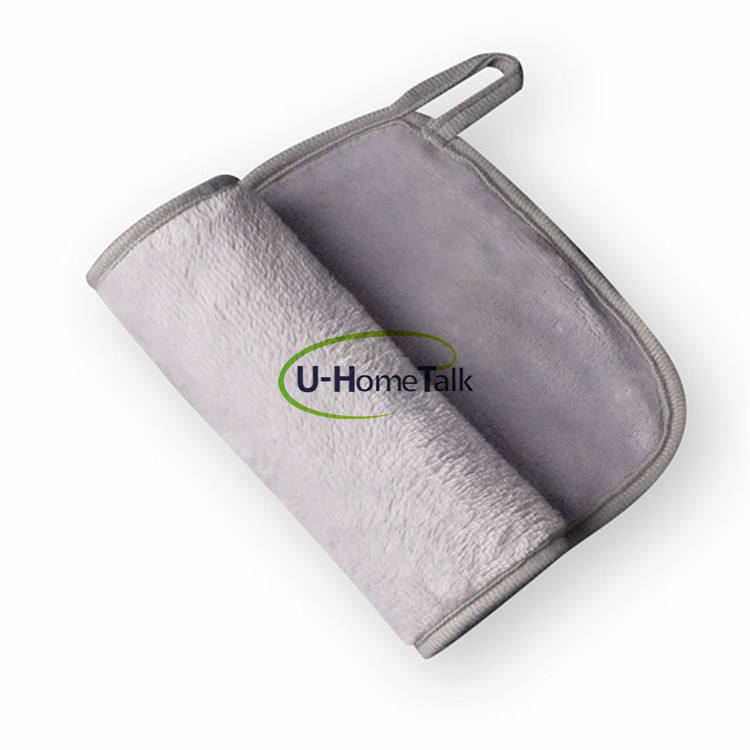 U-HomeTalk UT-MF007 Amazon Hot Reusable Microfiber Wipes Wash Face Towel Clean Cloth Makeup Remover With Hang Line