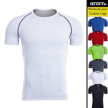 Manufacturer Custom Design Sport Running Gym Men Tshirt Wears