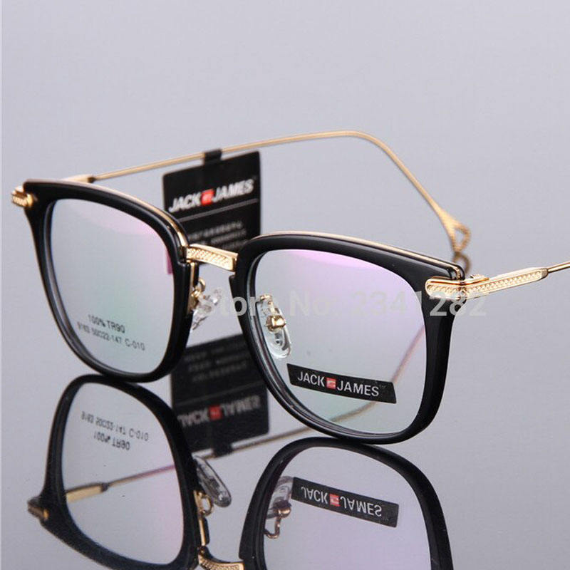 2019 TR90 Alloy Optical Glasses Frame Men Full Rim Square Myopia Eyeglasses for Men Male Prescription Eyewear Ready Stock