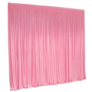 10ft x 10ft Ice silk cloth party event wedding decorations hanging Curtain Backdrop