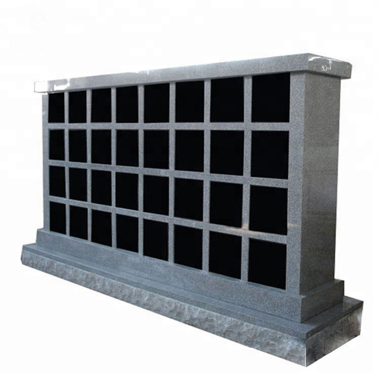 100% Granite Stone 72 columbarium niche prices