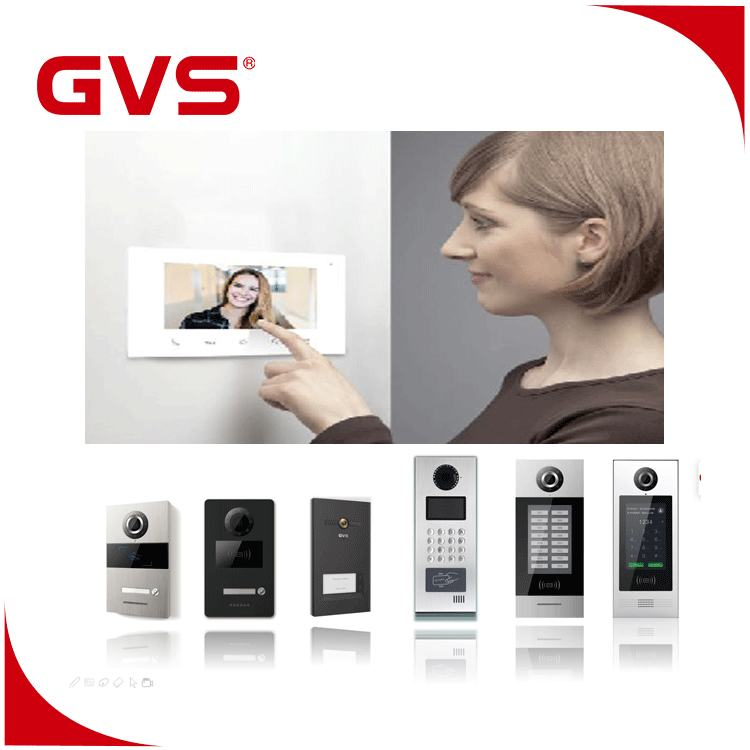 China Manufacturer 2 Way Door Entry Video Intercom System For Villa And Big Apartment Buildings