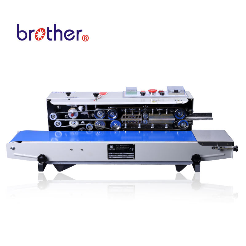 Brother Packing Ink Printing Automatic Continuous Plastic Bag Band Sealer Pouch Sealing Machine FRD1000W
