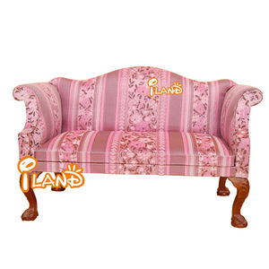 iland miniatures 1:6 Scale Doll Furniture double sofa red fabric SL001G-2