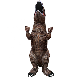 new design inflatable animal cosplay inflatable walking t rex dinosaur mascot costumes for adult children