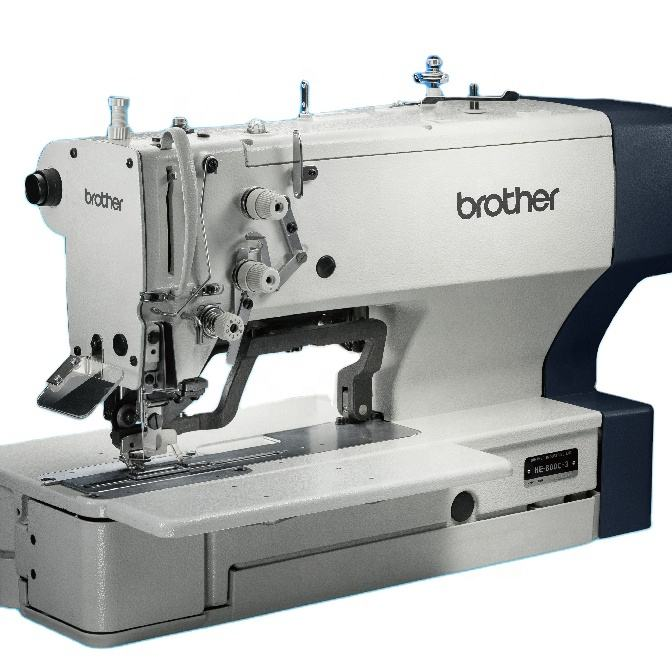 High Productivity Brother Nexio He-800c Electronic Direct Drive Lockstitch Button Holer Sewing Machine