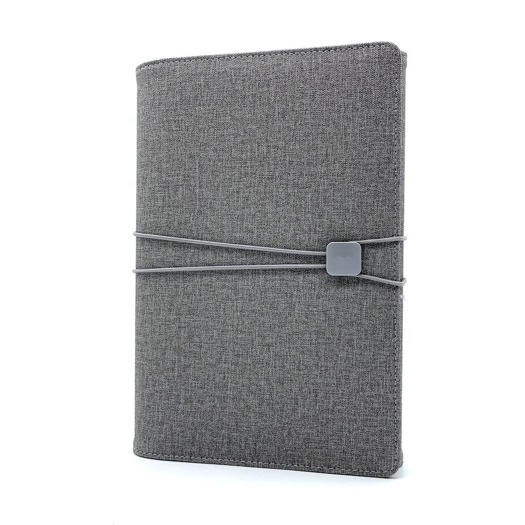 NEW DESIGN A5 leather cover diary with 2020 2021 planner inner for business notebook