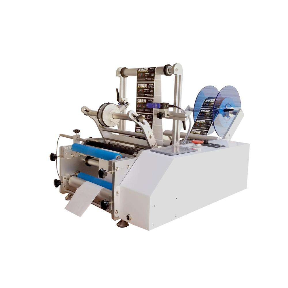 Simple maintenance the circular labeling machine Semi automatic for packaging wood Provide quality inspection report round