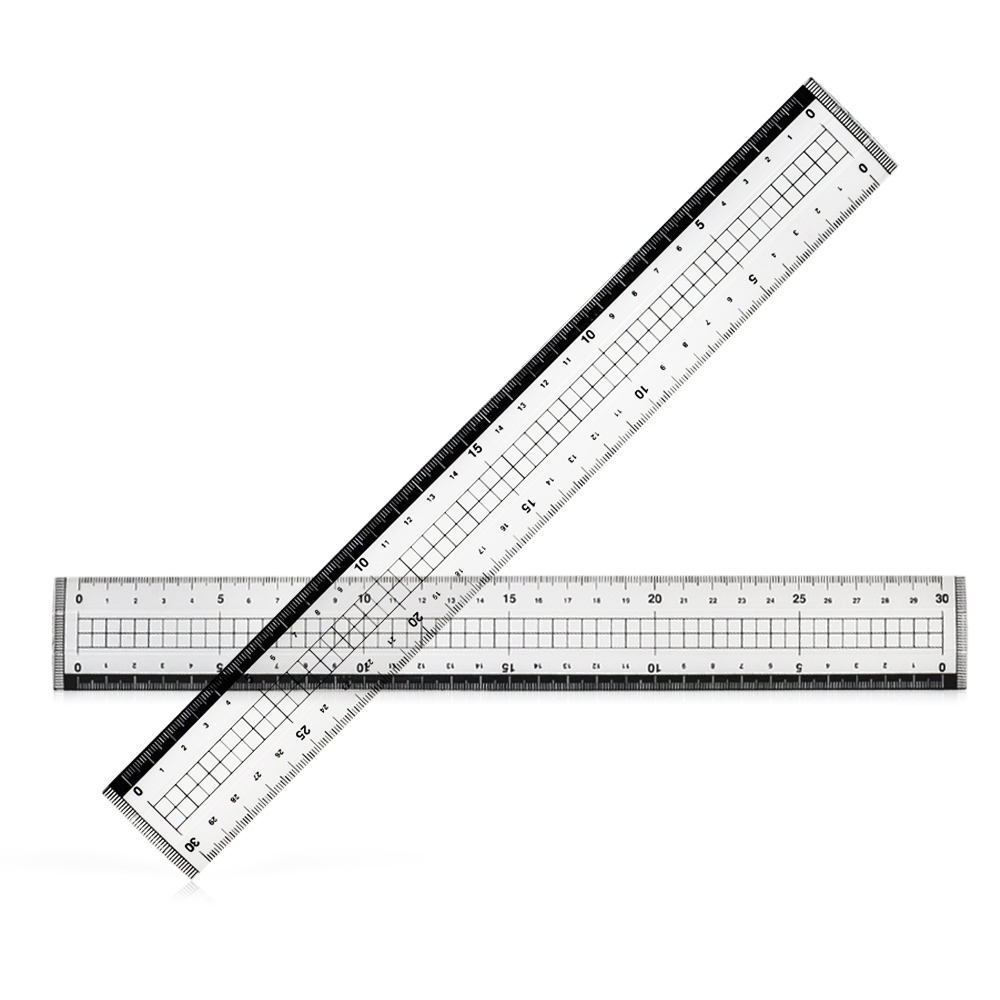 Japan selling Straight ruler stationery office school measuring ruler 30cm high quality drawing ruler