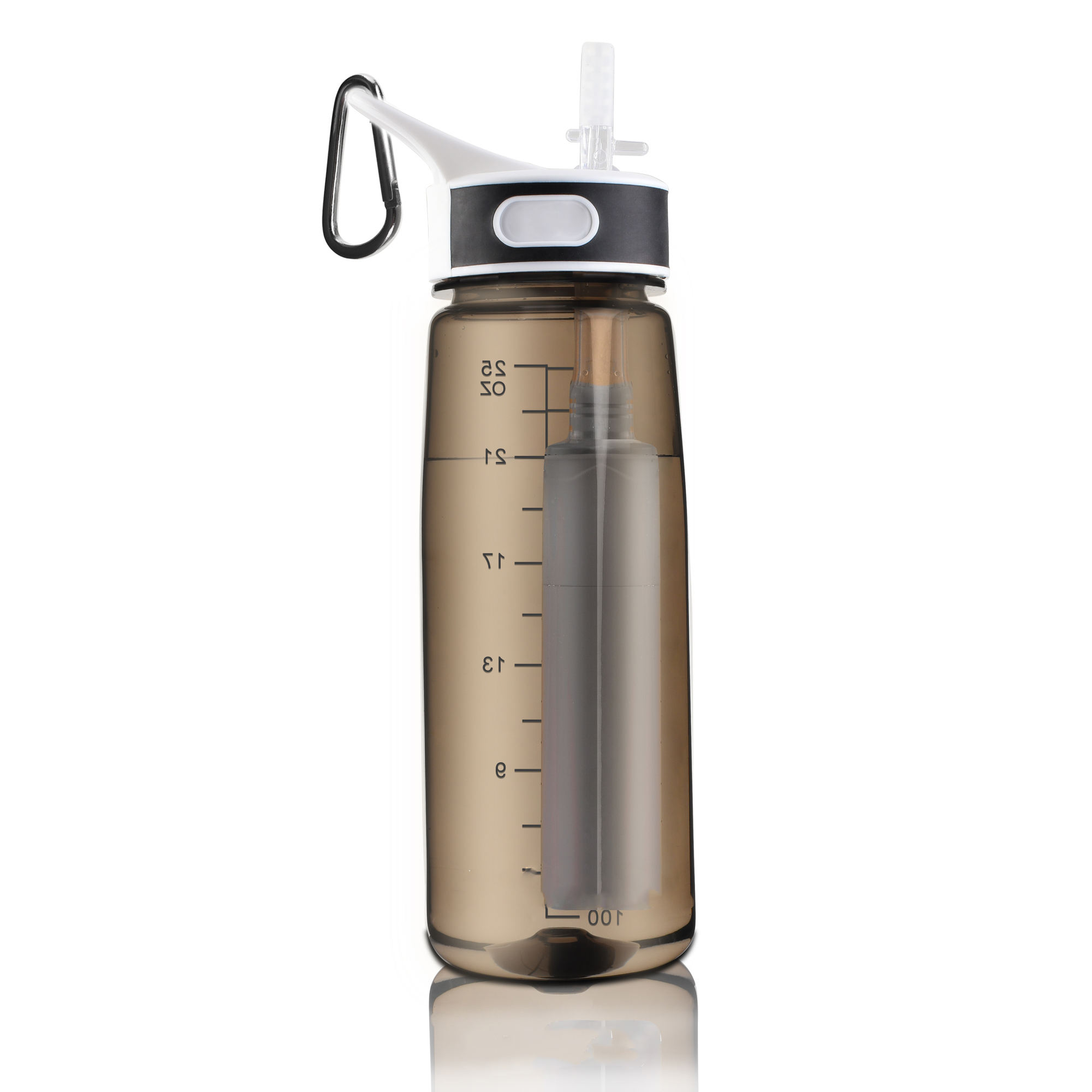 wholesale Custom logo outdoor camping BPA Free eco friendly water bottle portable Tritan sports filter water bottle