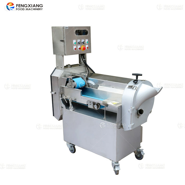 FC-301 industrial electrical multifunction vegetable fruit potato carrot cutting slicing chopping dicing processing machine