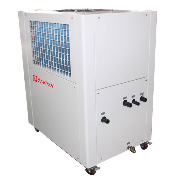 1000l r134a water chiller for chicken with integrated tank and water pump