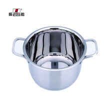 20cm Hot sale Retail High Quality Stainless Steel Straight Pot Soup & Induction Stock Pots casserole For Cooking