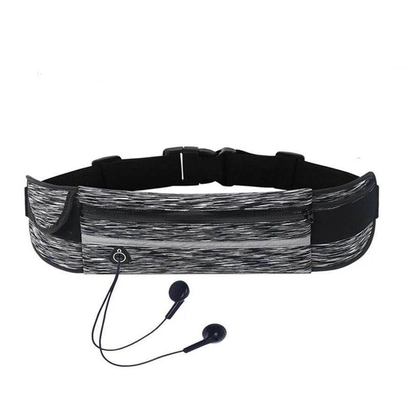 in stock hot sell waist bag/ Adjustable elastic sports waist bag China factory fanny pack belt pouch running sports bum bag