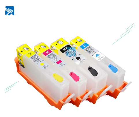 UP brand 10sets Refillable Ink Cartridges for 364 364XL with chip for hp 3070A B209a B210A 5515 B010a B109d B109f B109a B110c