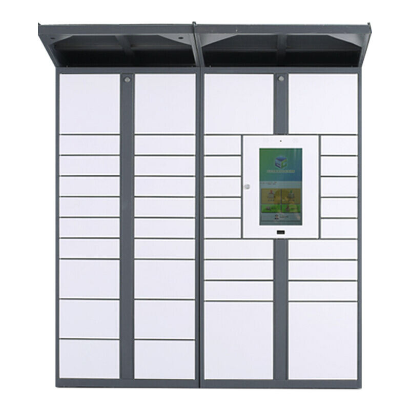 Outdoor waterproof QR smart lockers intelligent software parcel delivery and pick up locker
