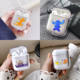 Cartoon Lion King Stitch Earphone Case For Apple iPhone Charging Box For AirPods Hard Transparent Protective Cover Accessories