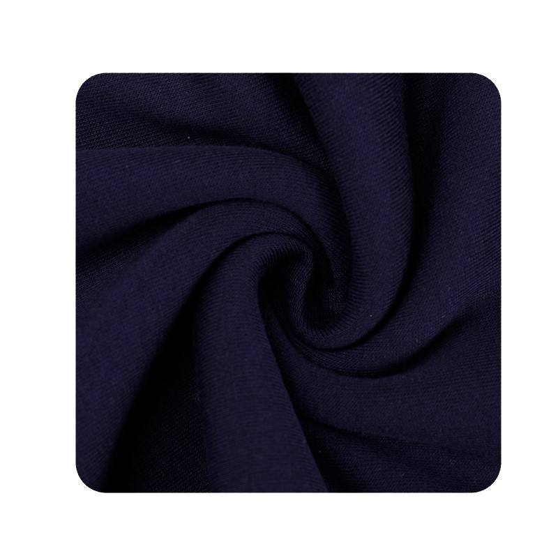 Factory Wholesale Cuff Hem 95% Cotton 5%Spandex Knitted Rib Fabric For SportsWear