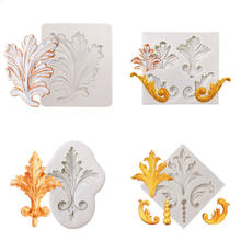 2020 European-style decorative printing mold silicone mold Silicone mousse cake mould cake tools silicone mold