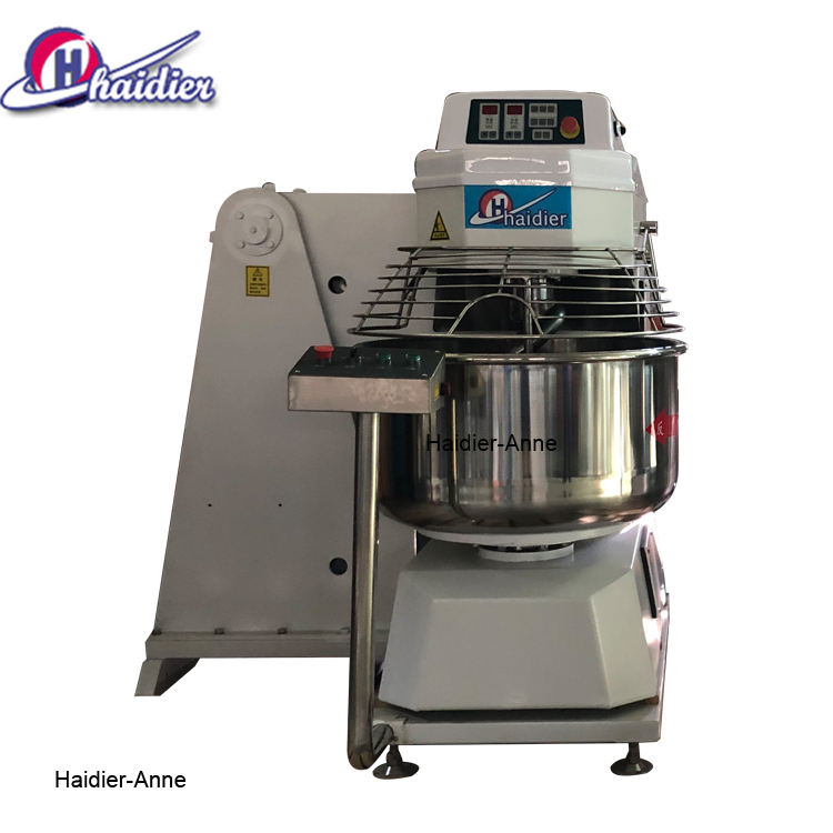 Fully automatic bread production line self-tipping dough mixer with 80kg flour