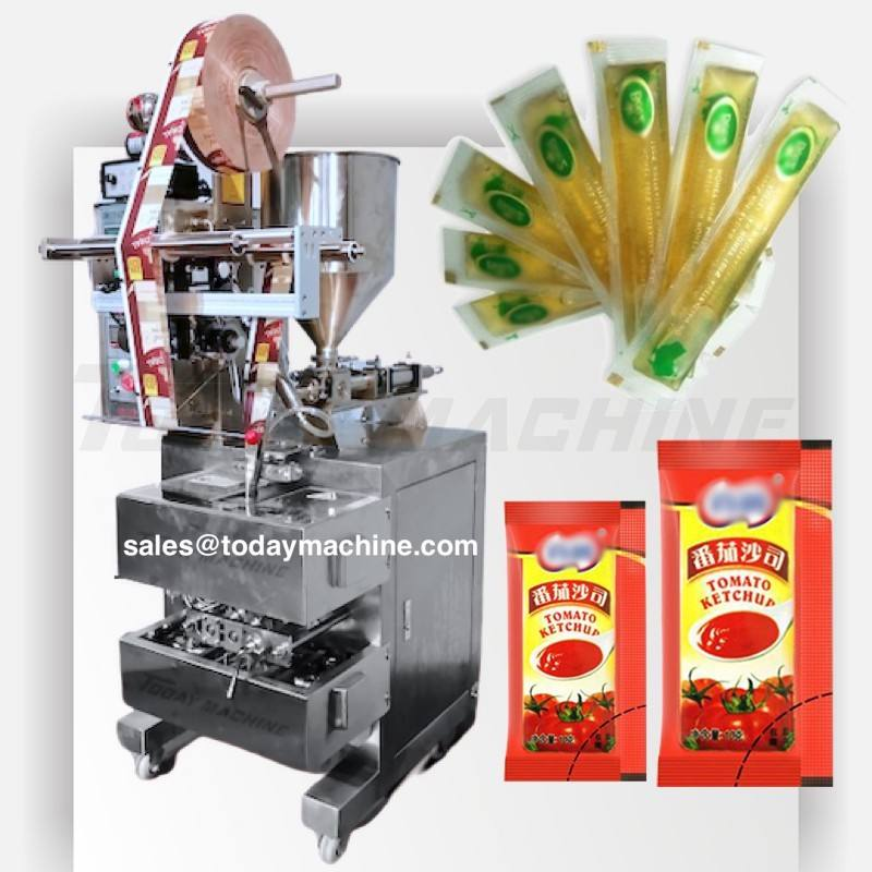 Automatic Food Grade Freezits Liquid Water Juice Honey Packing Machine, bagger machine energy gel packaging machine