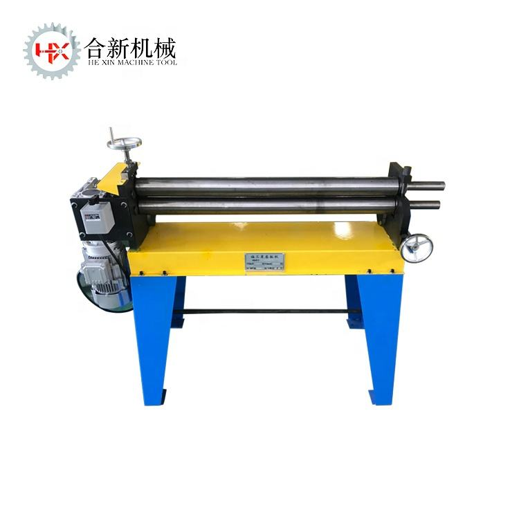 Manual sheet metal used steel plate rolling machine price