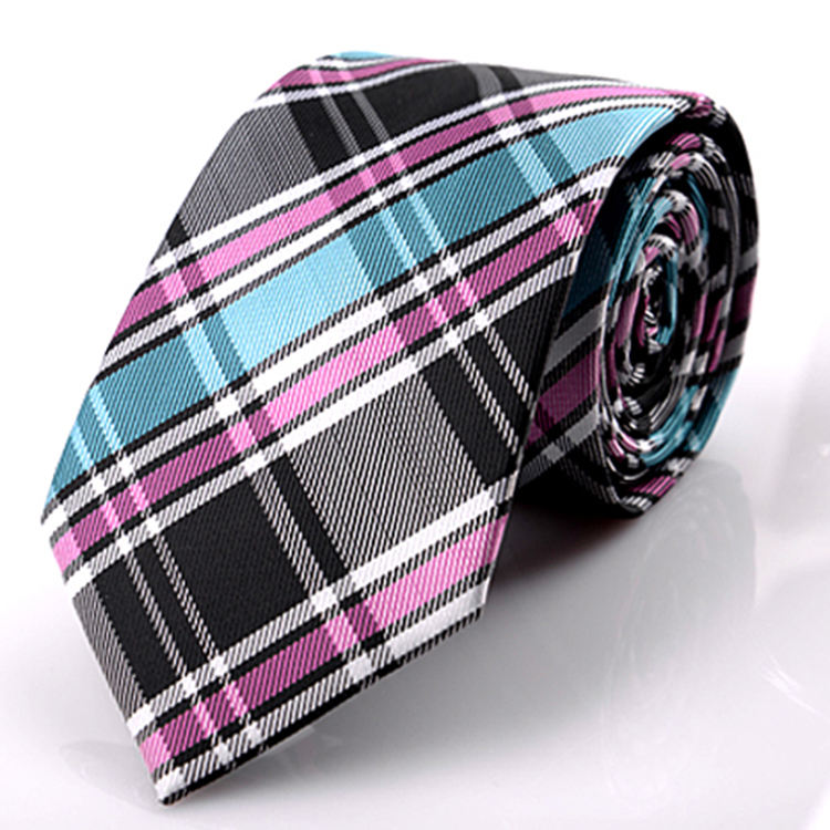 High quality wholesale cheap men's polyester woven necktie