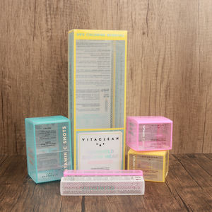 High Transparent PET Acetate Box Packaging Clear Plastic PVC Packaging Boxes