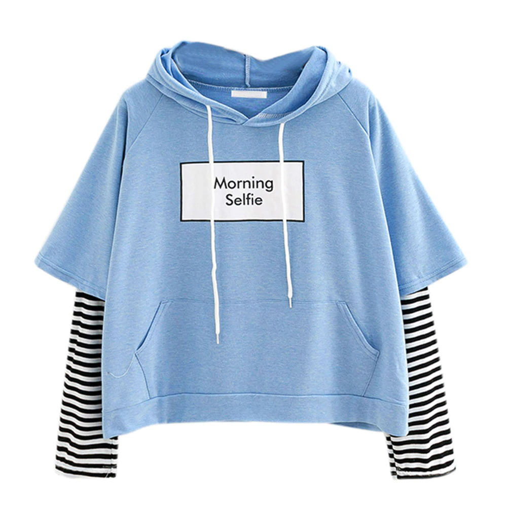 Customized 100% Cotton Hot Sale Blank Oversize Long Sleeve Sweatshirt Women Hoodie Nice Design