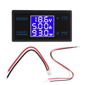 DC 0-100V 10A 1000W LCD Digital Voltmeter Amperemeter Wattmeter Spannung Strom Leistungsmesser Volt Detektor Tester Monitor 12V 24V 36V