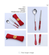 Wedding Gifts Cutlery Set Of Chopsticks And Spoon For Wedding Guest Gifts Stainless Steel Cutlery Sets