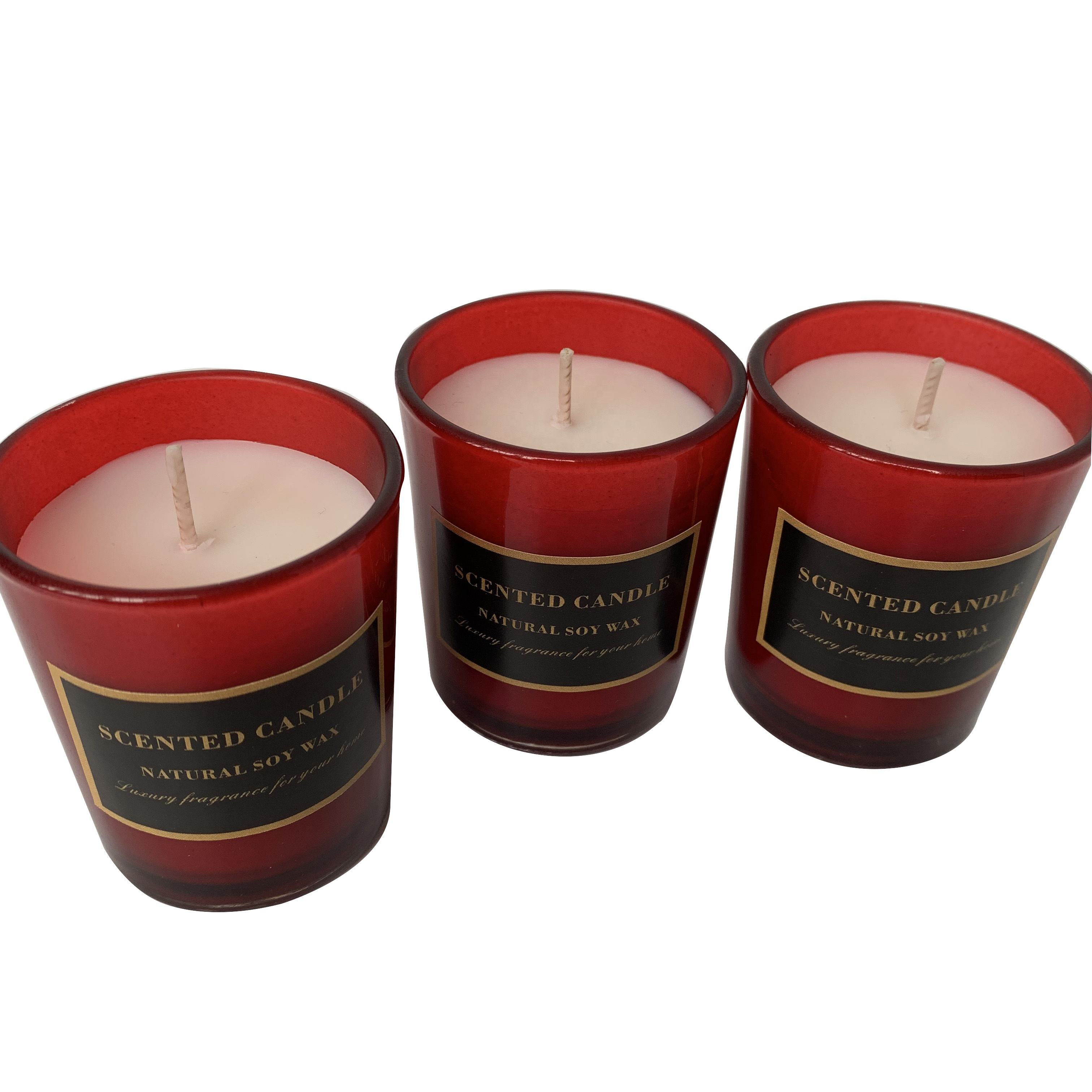 Cheap price wholesale customized good quality soy candles scented
